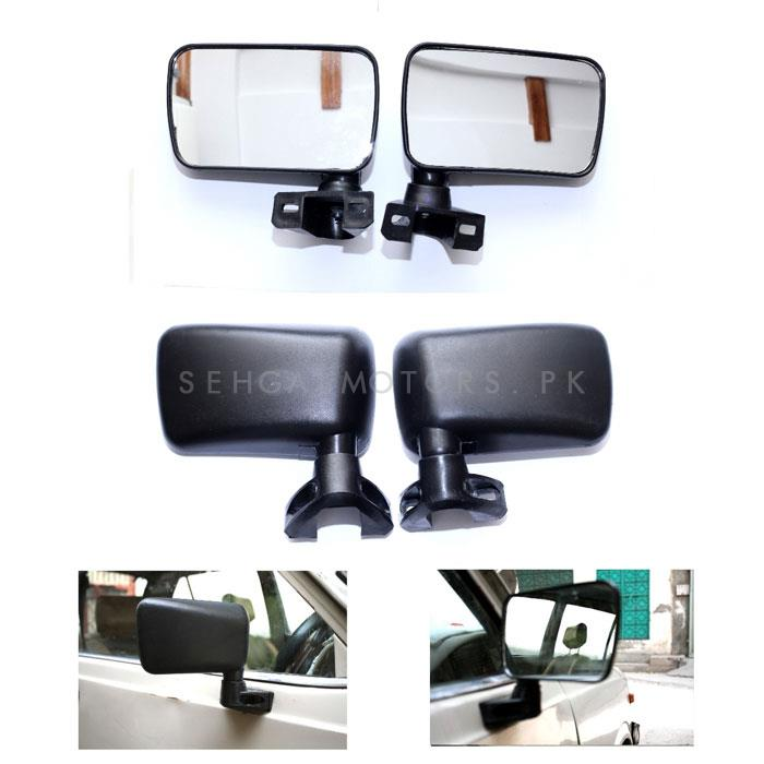 Suzuki FX800 Side View Mirrors - Pair-SehgalMotors.Pk
