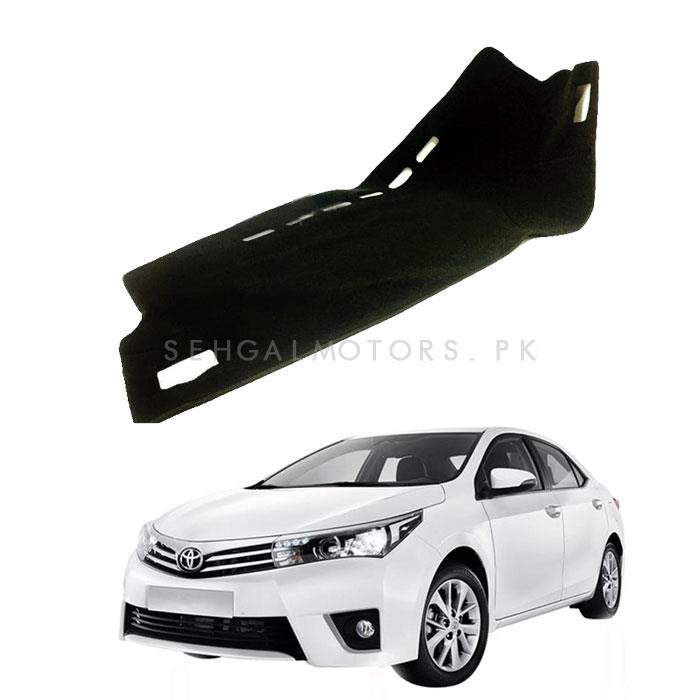 Toyota Corolla Dashboard Carpet For Protection and Heat Resistance - Model 2014-2017-SehgalMotors.Pk