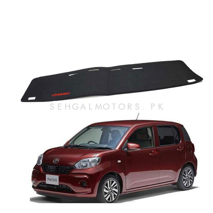 Toyota Passo Dashboard Carpet For Protection and Heat Resistance - Model 2016-2019-SehgalMotors.Pk