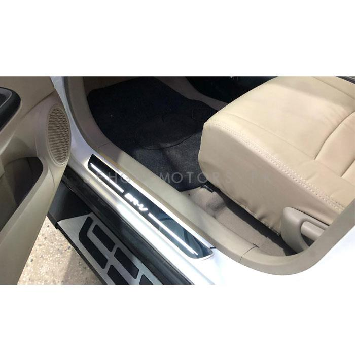 Honda BRV Sill Plates Warm White - Model 2017-2019-SehgalMotors.Pk