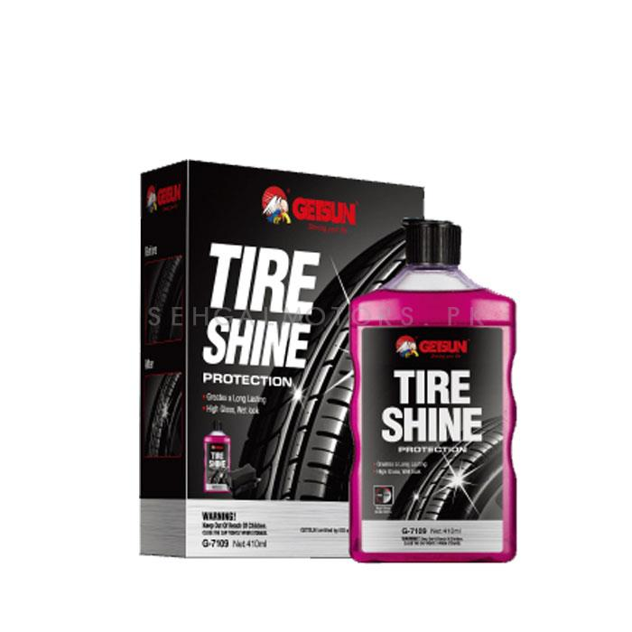 Getsun Tire / Tyre Shine Gel | Auto Tire Dedicated Refurbishing Agent Cleaner Coating Polish Protection Tyre Gloss | Multifunctional Tire Wax-SehgalMotors.Pk