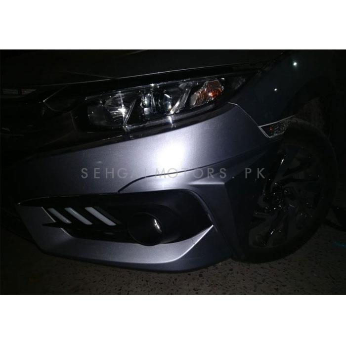 Honda Civic American Style Body Kit ABS Plastic 4 Pieces - Model 2016-2019 -SehgalMotors.Pk