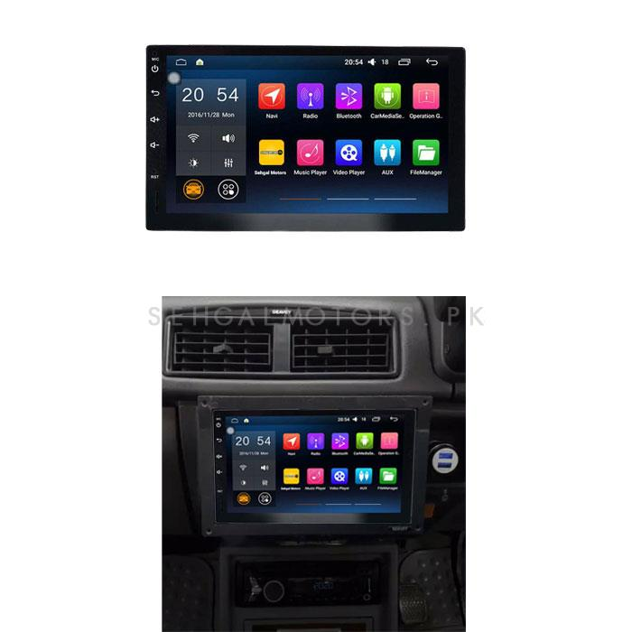 Suzuki Mehran Android LCD Multimedia Navigation System - Model 2012-2019-SehgalMotors.Pk