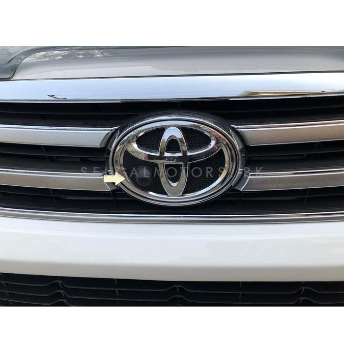 Toyota Hilux Revo Front Camera - Model 2016-2020 | Car Parking Camera | Security Camera | Front Guide Line Parking Backup Camera-SehgalMotors.Pk