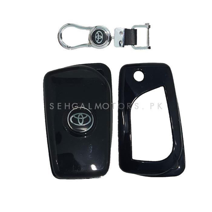 Toyota Corolla Key Protection Cover With Toyota Logo - Model 2017-2019-SehgalMotors.Pk