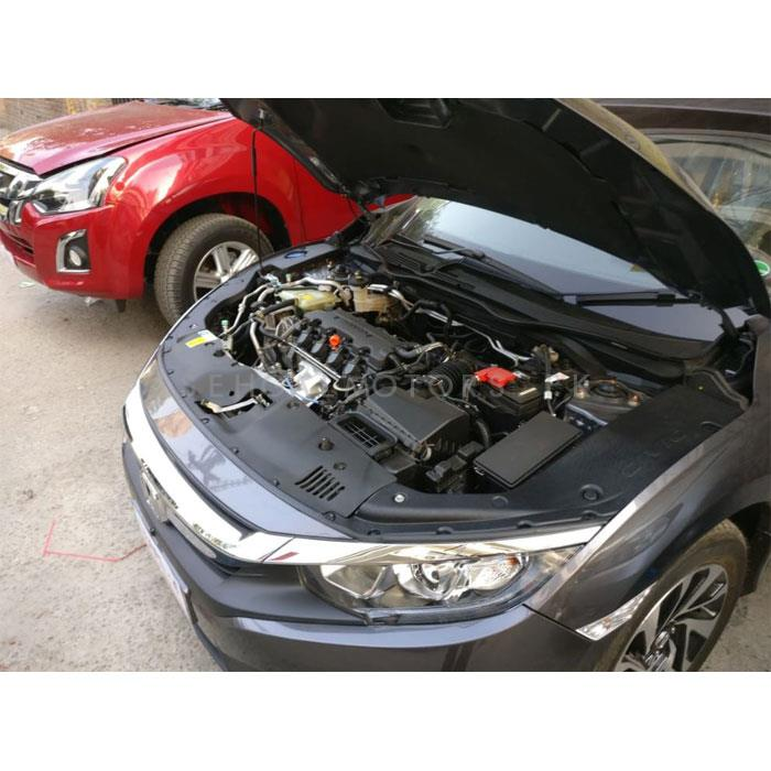 Honda Civic Fender Insulator Plastic Covers For Engine Black - Model 2016-2020-SehgalMotors.Pk
