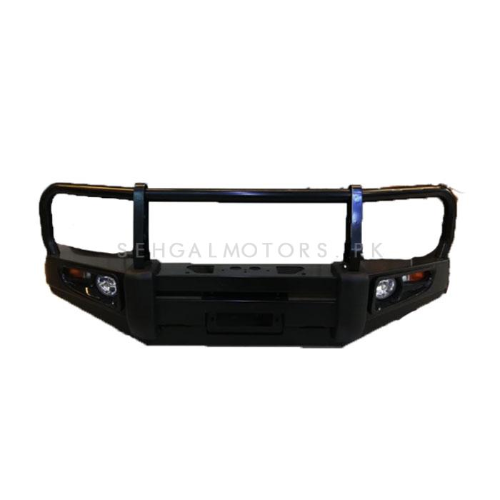 Toyota Hilux Vigo Ironman Front Bumper Bull Bar  Version 1 - Model 2005-2016-SehgalMotors.Pk