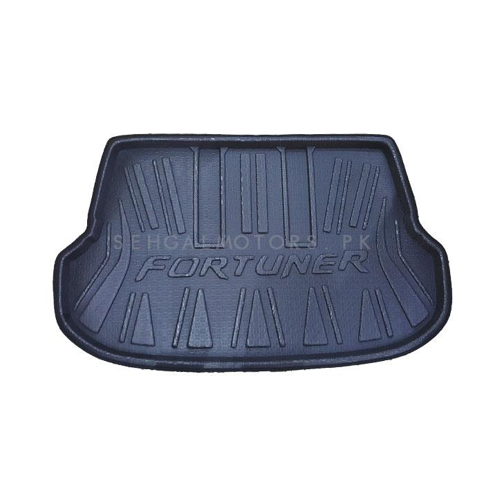 Toyota Fortuner Foam Trunk Mat - Model 2016-2021 | Trunk Boot Liner | Cargo Mat Floor Tray | Trunk Protection Mat | Trunk Tray Cover Pad-SehgalMotors.Pk