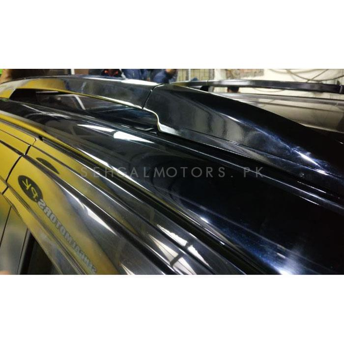 Toyota Hilux Revo Roof Rail Black - Model 2016-2019-SehgalMotors.Pk