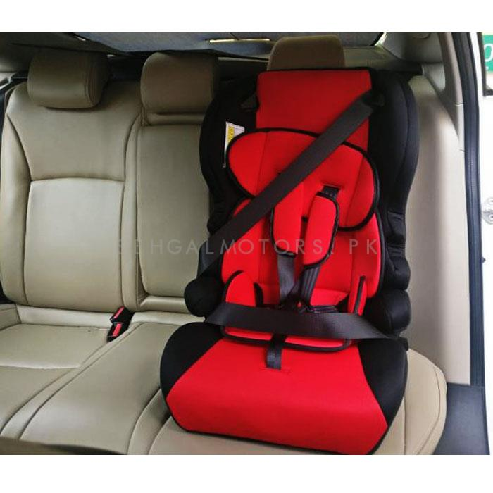 Baby Bucket Seat Red and Black    Racing Bucket Seat Back Protector Cover Pure Cotton Seat Dust Boot   Baby Safety Seat-SehgalMotors.Pk