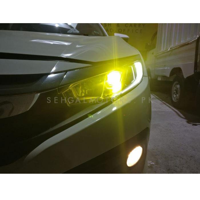 3M Transparent Yellow Tape For Front Headlights To Counter Fog-SehgalMotors.Pk