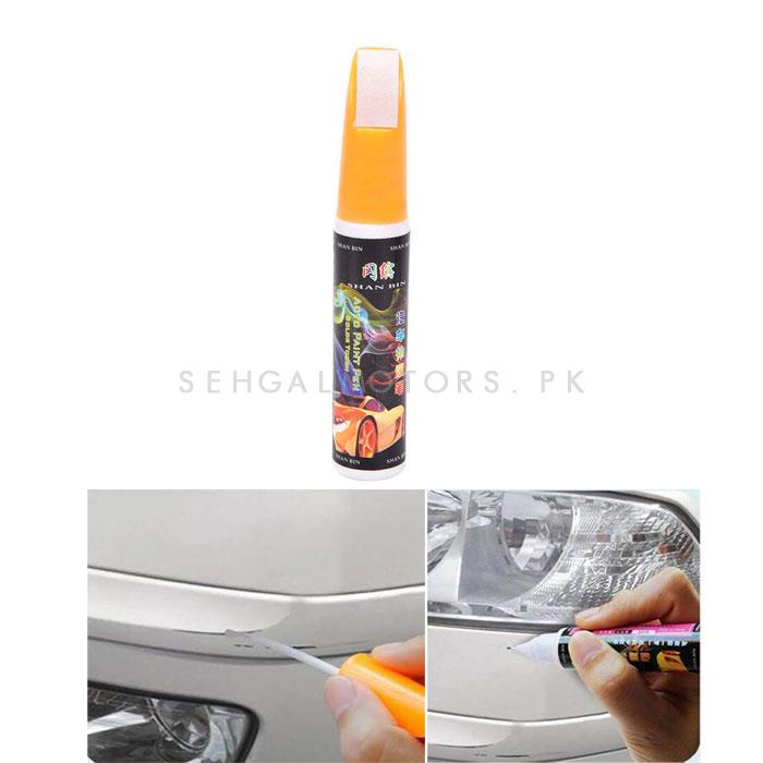 Paint Color Pen Teffta White -SehgalMotors.Pk