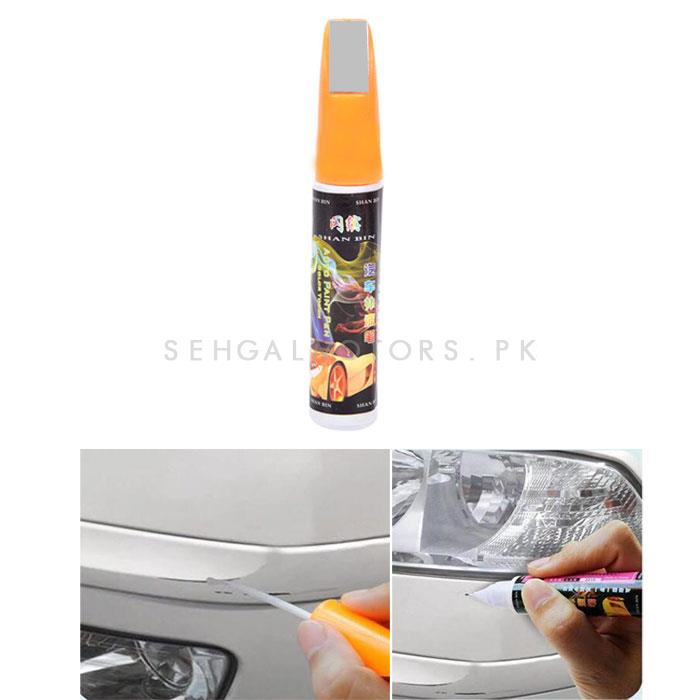 Paint Color Pen Titanium Silver-SehgalMotors.Pk
