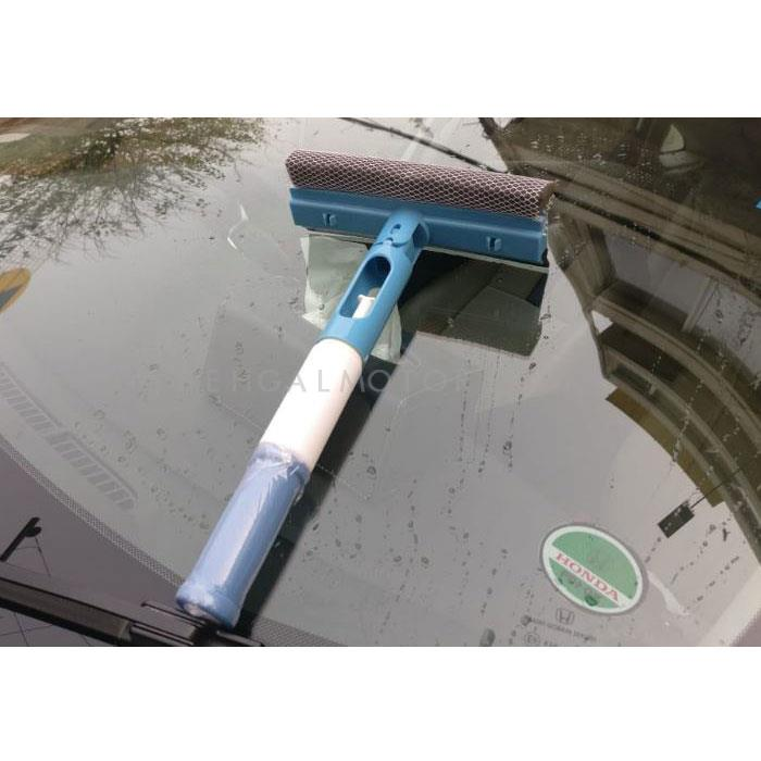 Car Squeeze And Spray Two Way Glass Cleaner Screen Wiper-SehgalMotors.Pk