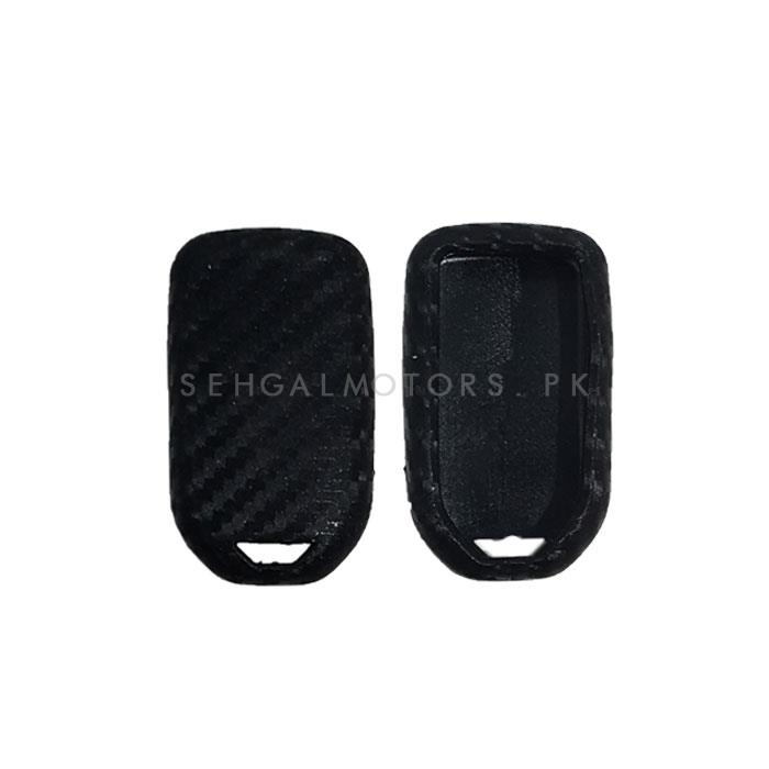Honda Civic PVC Carbon fiber Key Cover - Model 2016-2019-SehgalMotors.Pk