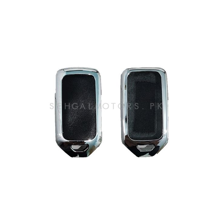 Honda Civic Chrome Style Key Cover - Model 2016-2019-SehgalMotors.Pk