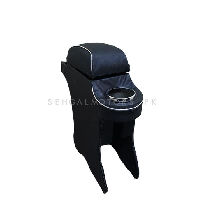 Suzuki Cultus Custom Fit Arm Rest Black - 2017-2019-SehgalMotors.Pk