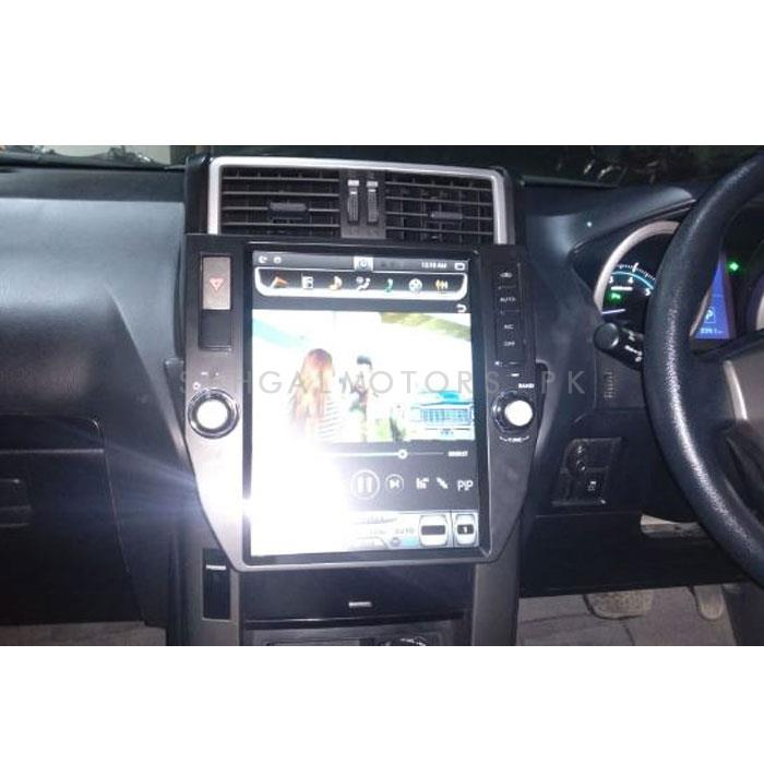 Toyota Prado Tesla Style IPS Display LCD Multimedia System Android 11 Inches - Model 2013-2017-SehgalMotors.Pk