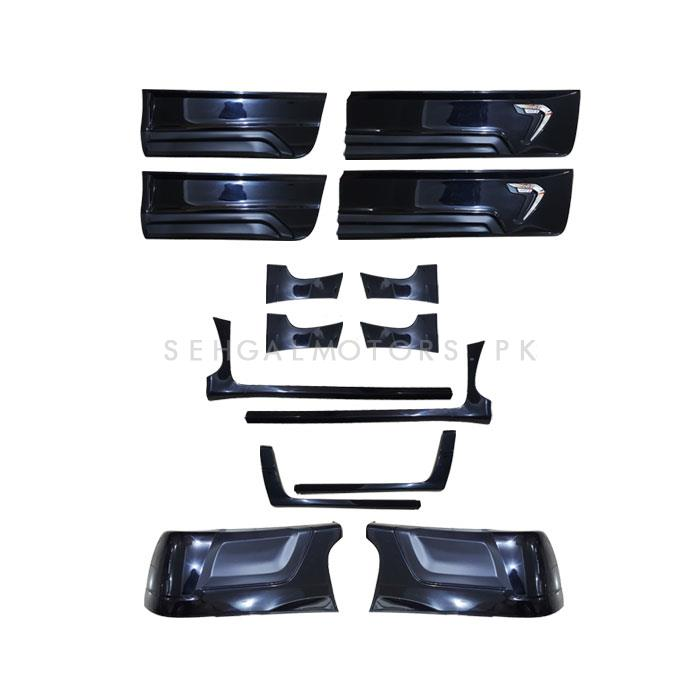 Toyota Hilux Revo RBS Body Cladding 12 Pieces - Model 2016-2020-SehgalMotors.Pk