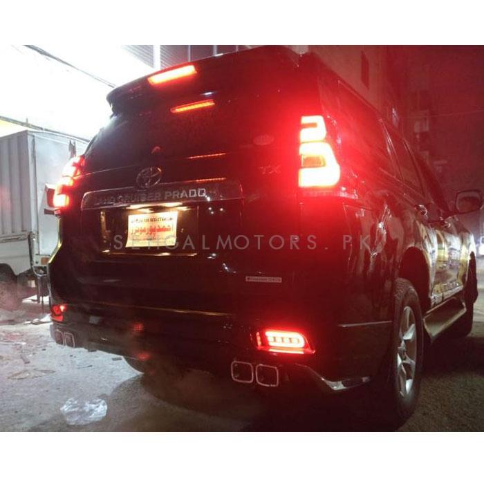 Toyota Prado OEM Style LED Tail Lights Lamp Sequential - 2009-2019-SehgalMotors.Pk