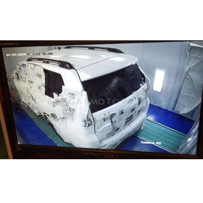 Toyota Prado Booth Bake Paint Work-SehgalMotors.Pk