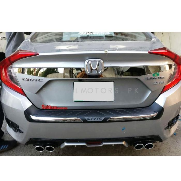 Honda Civic Chrome Trunk Trim - Model 2016-2019-SehgalMotors.Pk