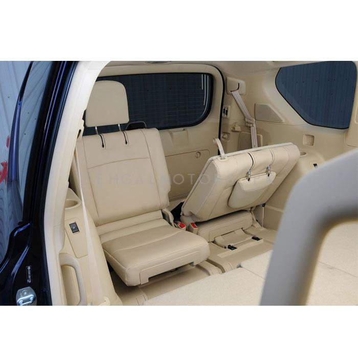 Toyota Land Cruiser Leather Seats 2pcs Beige - Model 2015-2018-SehgalMotors.Pk