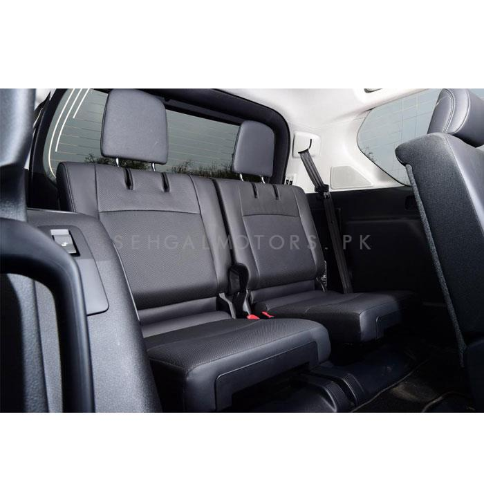 Toyota Land Cruiser Leather Seats 2pcs Grey - Model 2015-2018-SehgalMotors.Pk