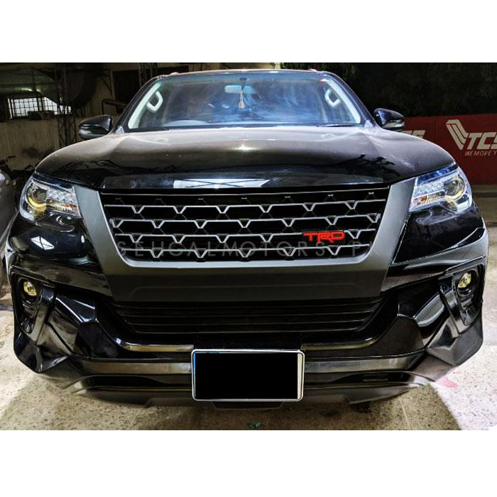 Toyota Fortuner TRD Front Grille - Model 2016-2019-SehgalMotors.Pk