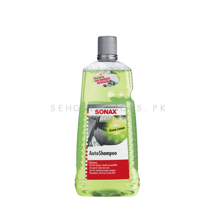 Sonax Car Wash Shampoo Green Lemon - 2L-SehgalMotors.Pk