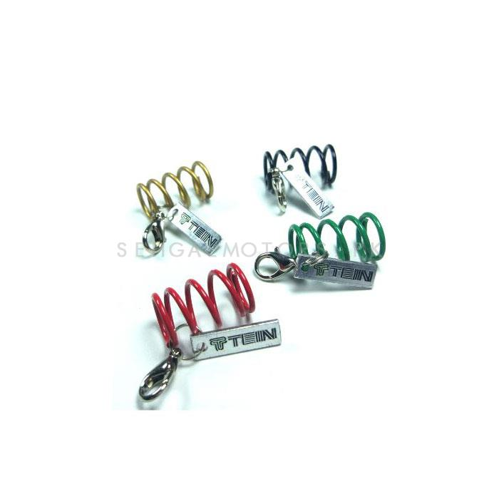 Coil Over Key Chain / Key Ring Mix Color | Key Chain Ring For Keys | New Fashion Creative Novelty Gift Keychains-SehgalMotors.Pk