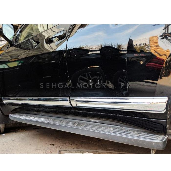 Toyota Prado Door Moulding Full Chrome - Model 2009-2019-SehgalMotors.Pk