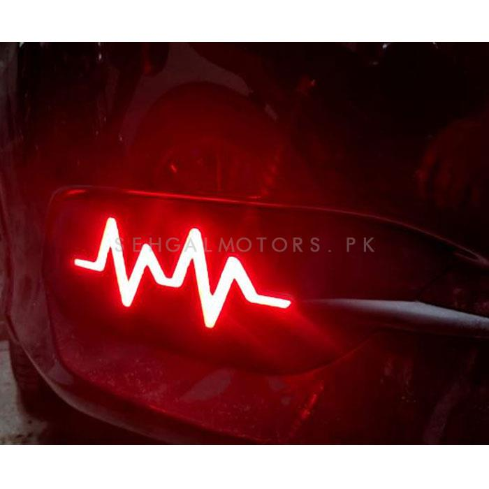 Honda Civic Back Bumper Light Thunderbolt Style - Model 2016-2020-SehgalMotors.Pk