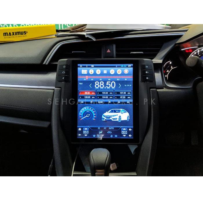 Honda Civic LCD Multimedia System Android GPS Tesla IPS Style - Model 2016-2019-SehgalMotors.Pk