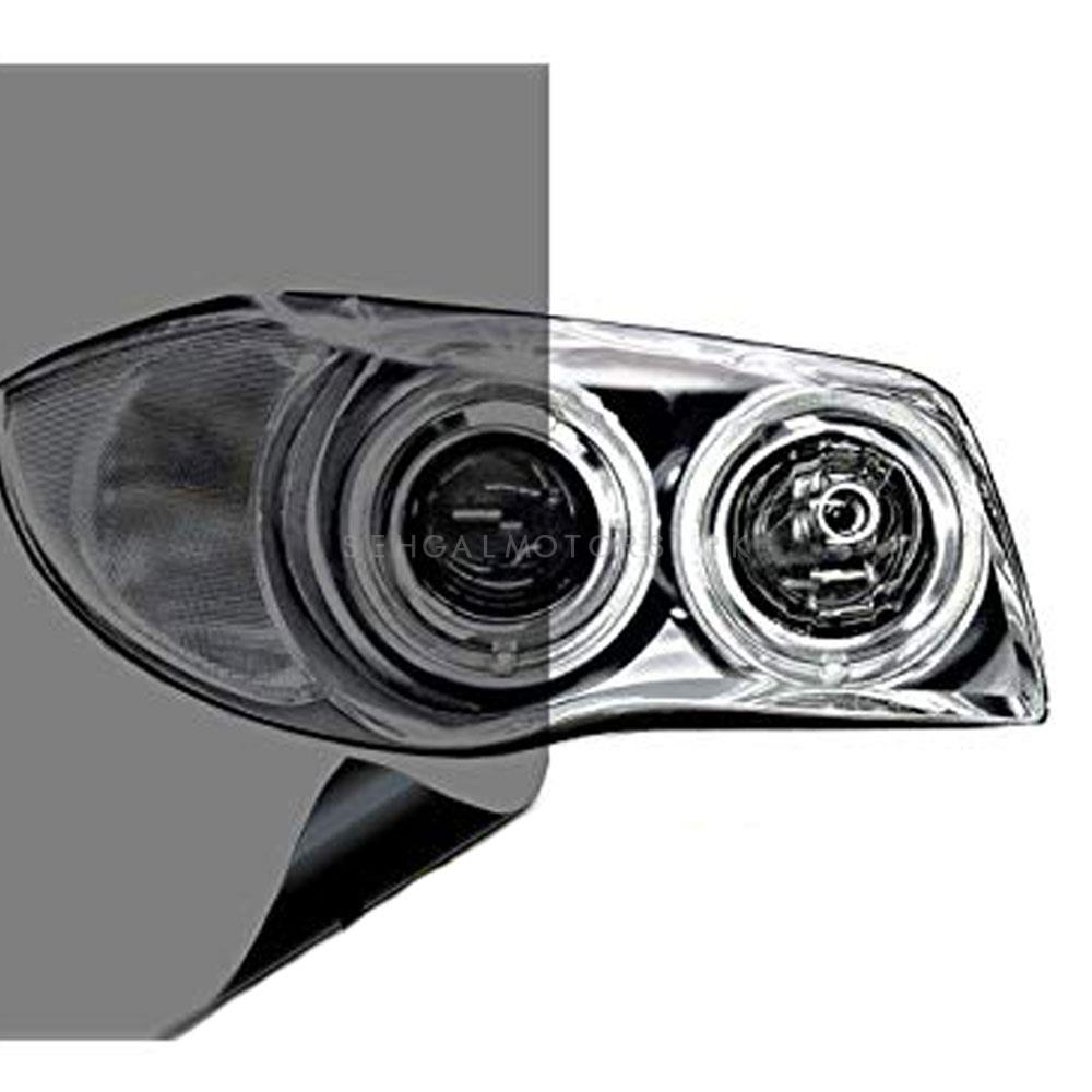 3M Transparent Smoke Style Tape For Front Headlights To Counter Fog-SehgalMotors.Pk
