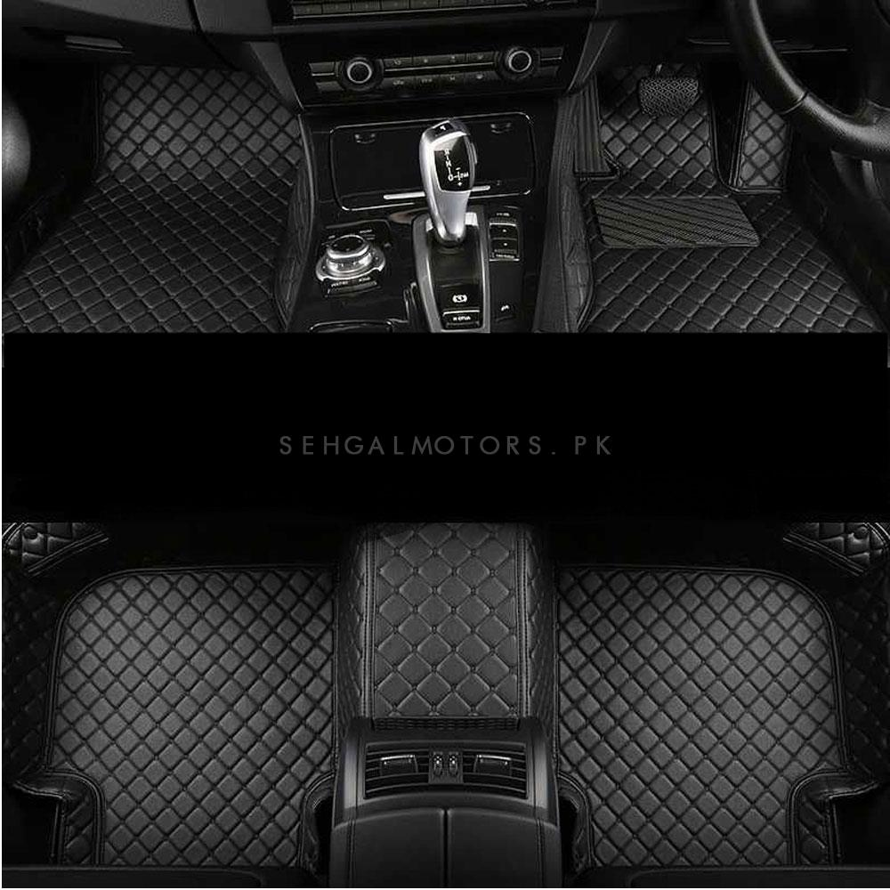 Suzuki Vitara 7D Floor Mats Black - Model 2016-2019-SehgalMotors.Pk