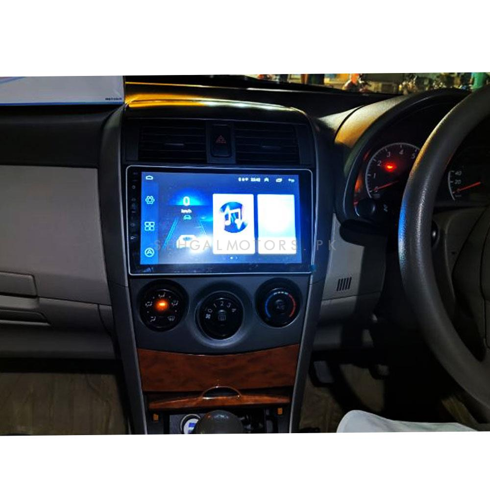 Toyota Corolla Android LCD Navigation System - Model 2008-2014-SehgalMotors.Pk