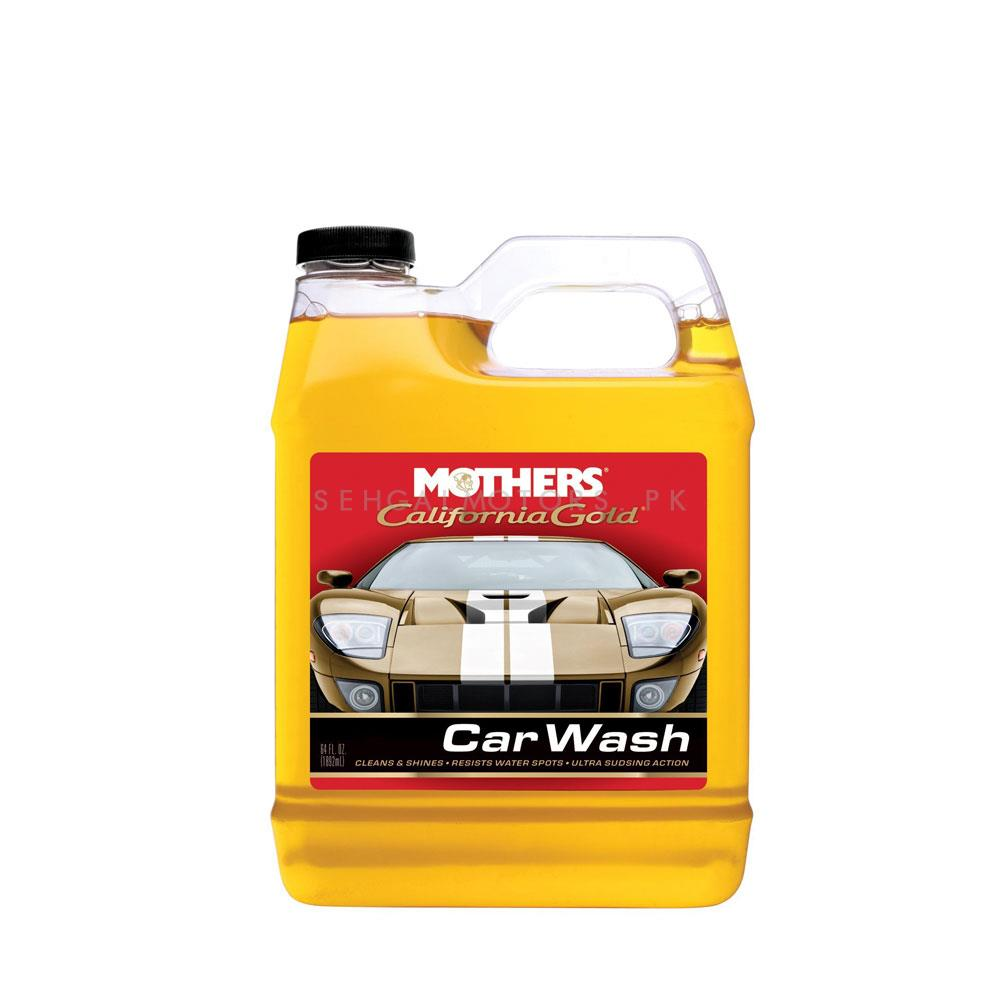 Mothers California Gold Car Wash - 64 OZ  | Car Shampoo | Car Cleaning Agent | Car Care Product | Glossy Touch Shampoo | Mirror Like Shine-SehgalMotors.Pk