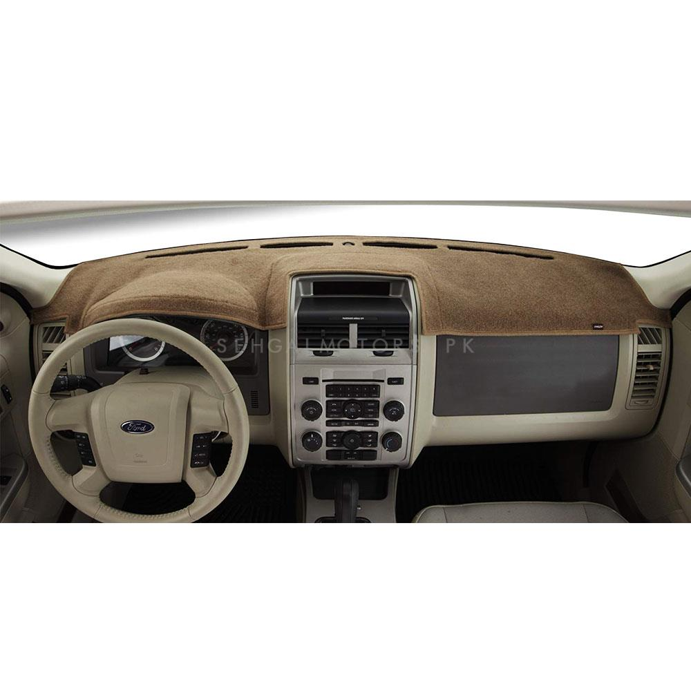 Honda BRV Dashboard Carpet For Protection and Heat Resistance Beige - Model 2017-2019-SehgalMotors.Pk