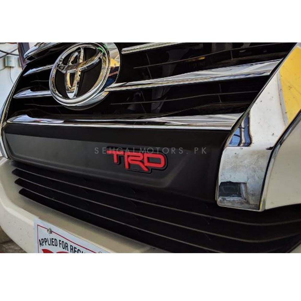Toyota Fortuner TRD Grill Strip Black - Model 2016-2019-SehgalMotors.Pk