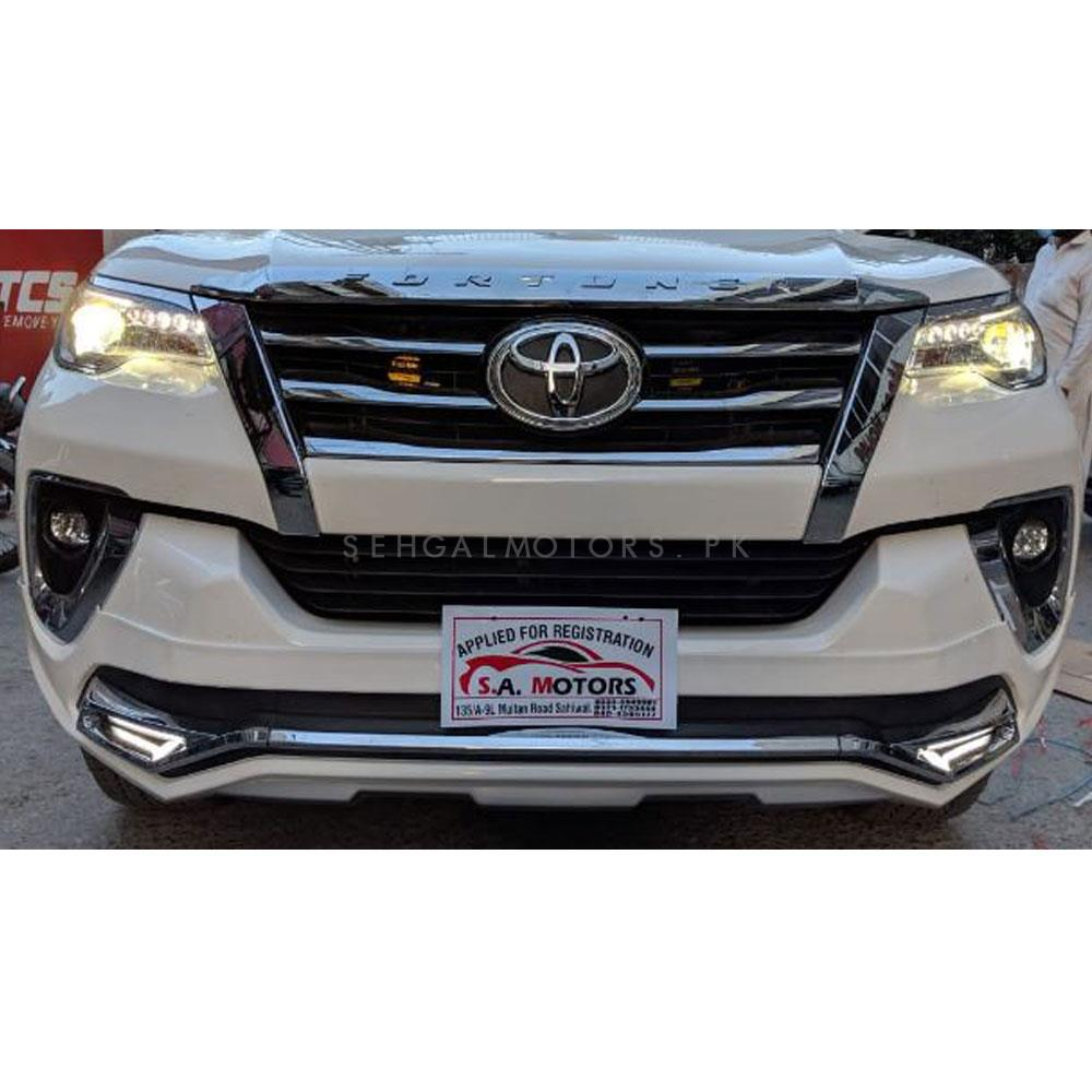 Toyota Fortuner Tithum Style Body Kit / Bodykit - Model 2016-2019 - Thailand-SehgalMotors.Pk