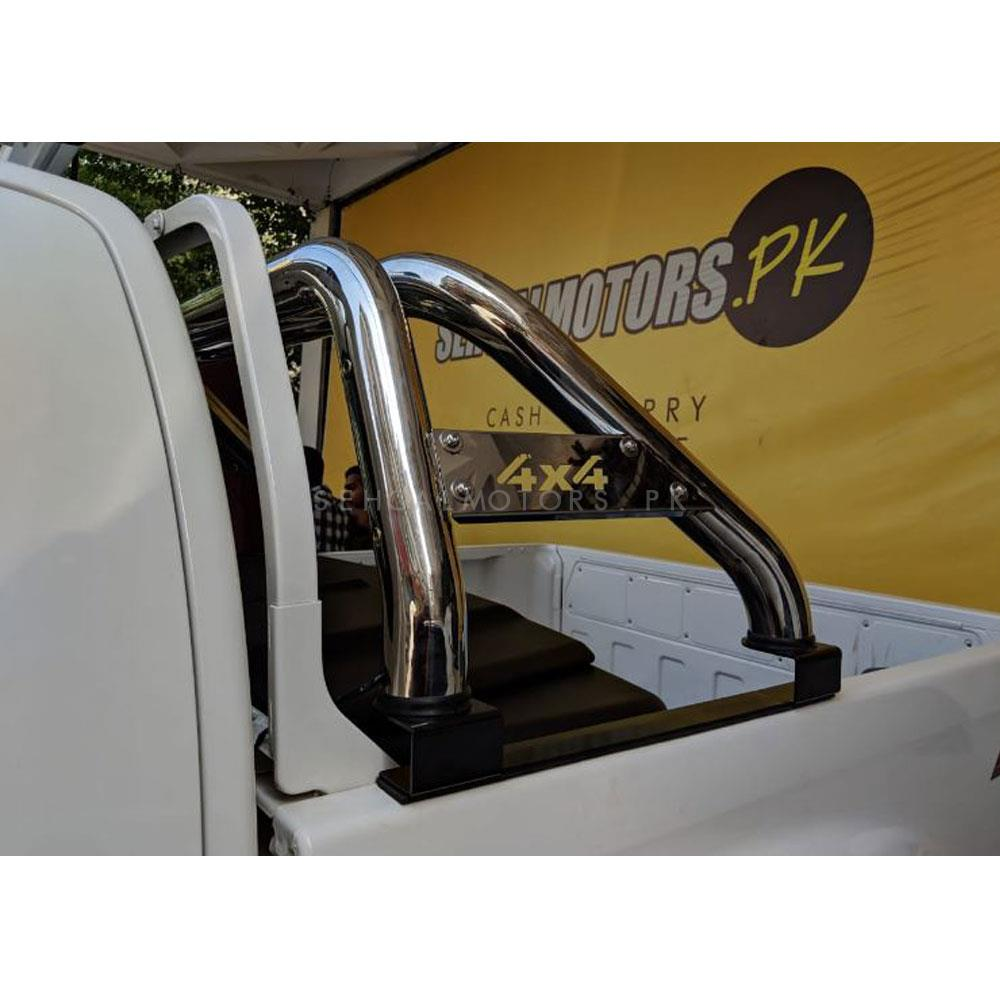 Universal 4X4 Stainless Steel Style Roll Bar | Sport Roll Bar | 4x4 Accessories | Auto Decoration Accessories-SehgalMotors.Pk