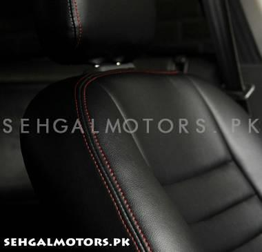 Toyota Prius Seat Covers Black with Red Thread - Model 2009-2019-SehgalMotors.Pk