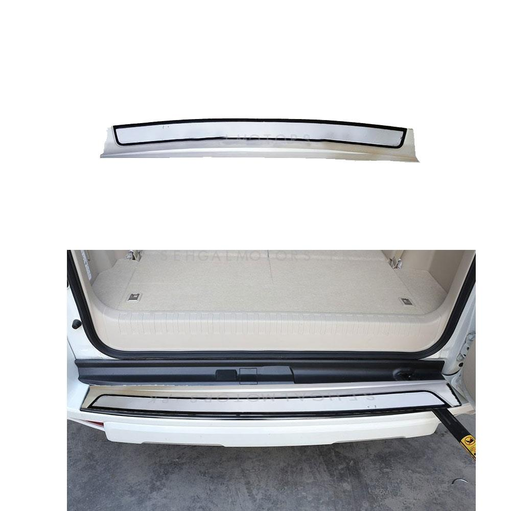 Toyota Land Cruiser Rear Bumper Protector White - Model 2015-2019-SehgalMotors.Pk