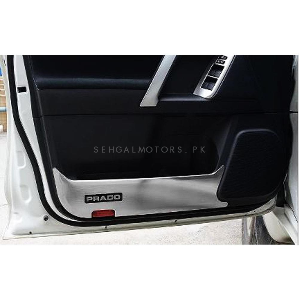 Toyota Prado Anti Kick Door Protection Cover Chrome- Model 2009-2018-SehgalMotors.Pk