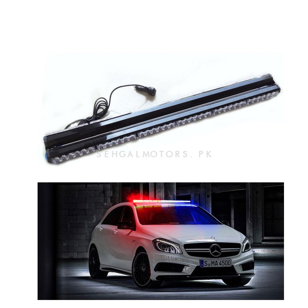 Two Side Dual LED Police Bar Light -SehgalMotors.Pk