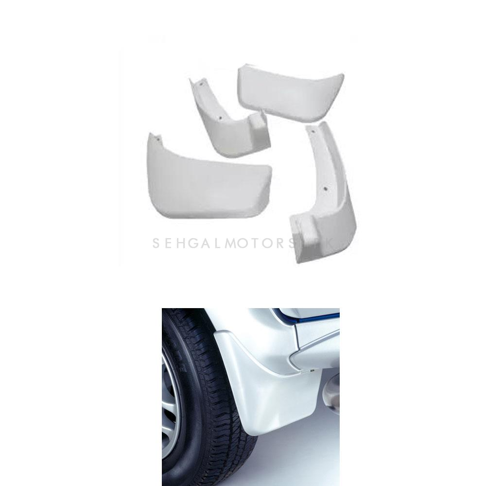Suzuki Wagon R Mud Flaps White - Model 2014-2018-SehgalMotors.Pk
