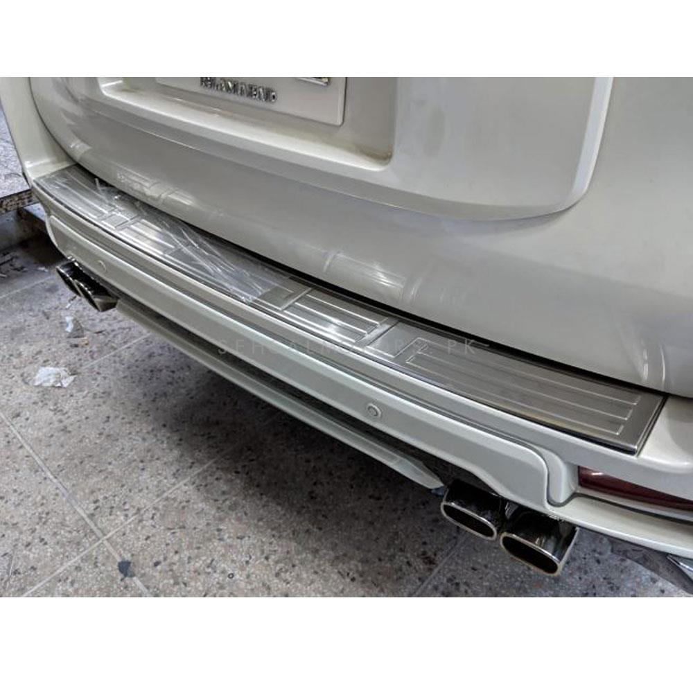 Toyota Prado Rear Bumper Protector Chrome - Model 2009-2019-SehgalMotors.Pk