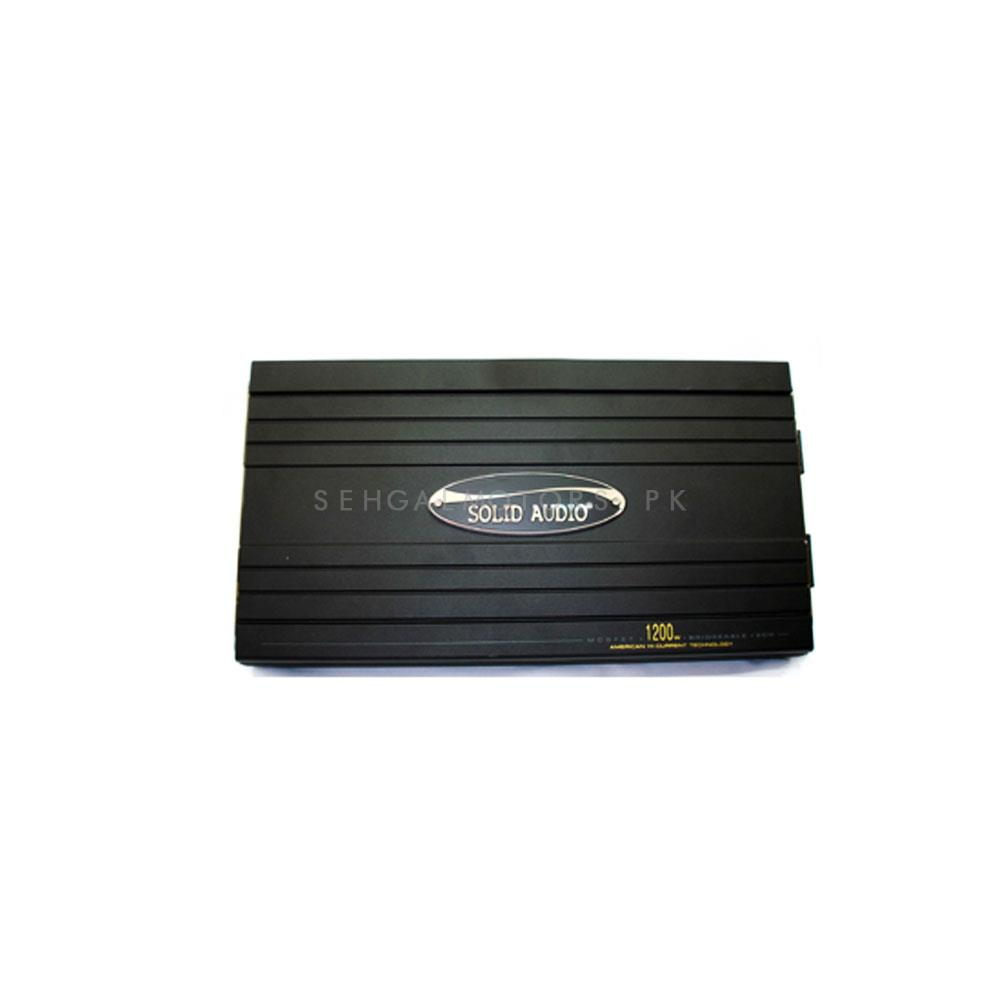 Solid Audio F-47 Amplifier 4 Channel-SehgalMotors.Pk