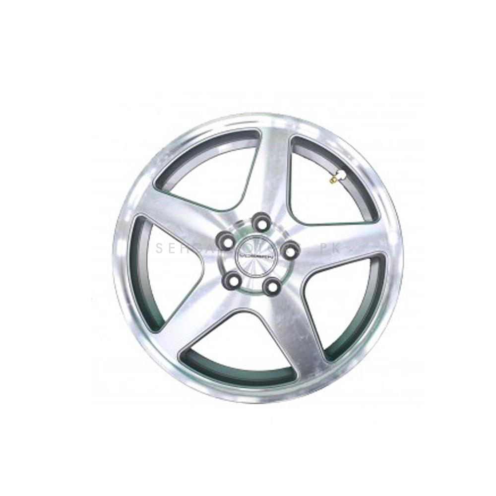 Vossen Alloy Rim 100 PCD 5 Hole Style 7 (Set of 4) - 15inches-SehgalMotors.Pk